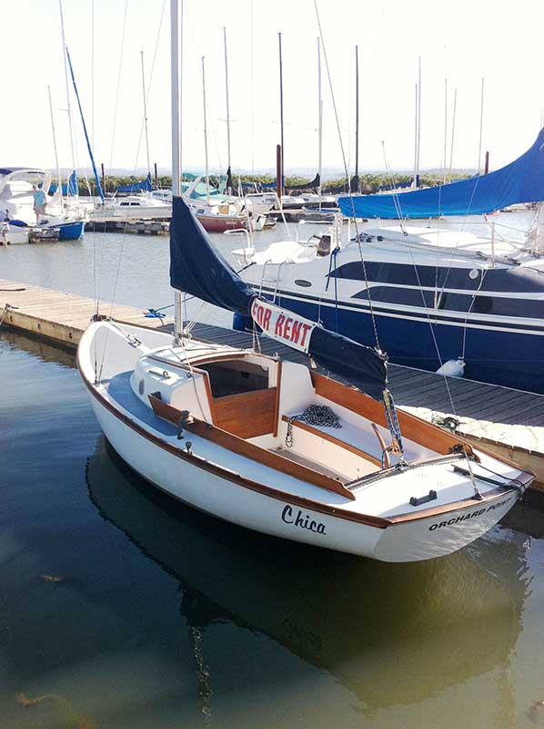 Cape Dory 19 ft  Sailboat for Rent