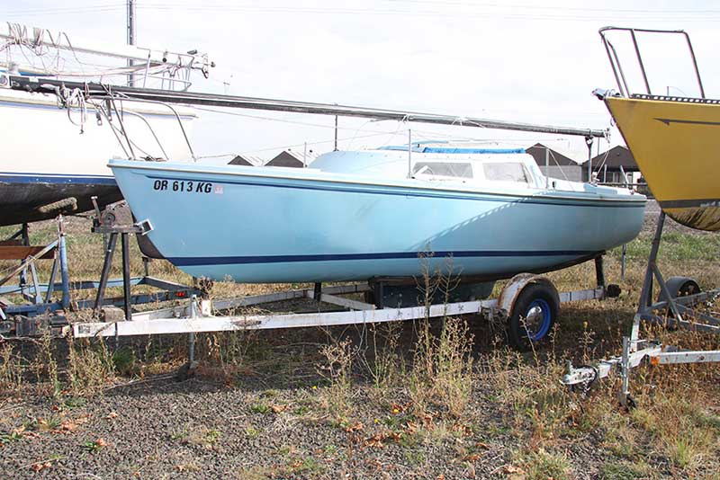 Catalina 22 Sailboat With Trailer For Sale Bfs16