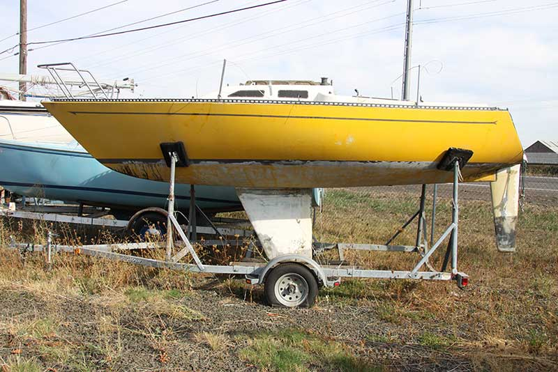 Sailboat Trailer For Sale >> Wilderness 21 Sailboat For Sale