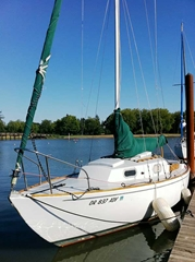 Bristol 27 ft. Sailboat for Rent