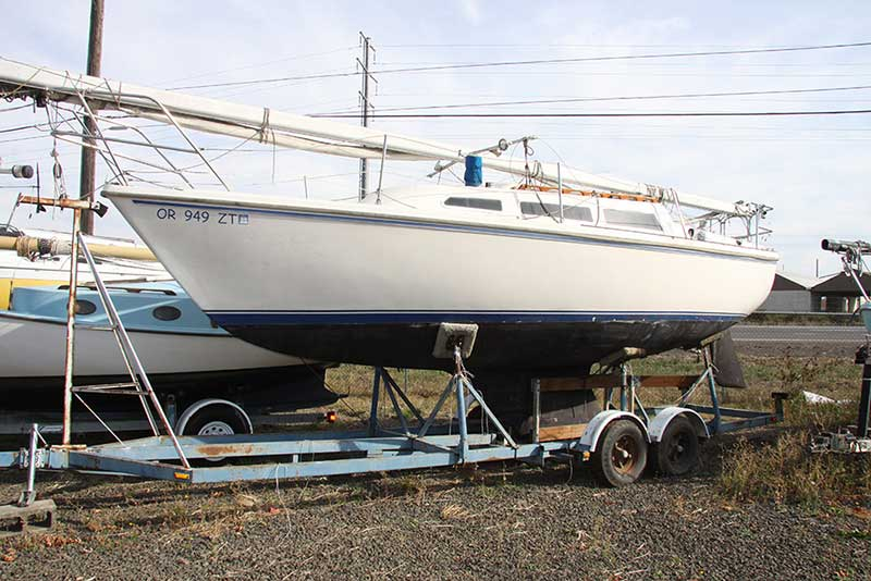 Catalina 27 Sailboat for Sale with Trailer