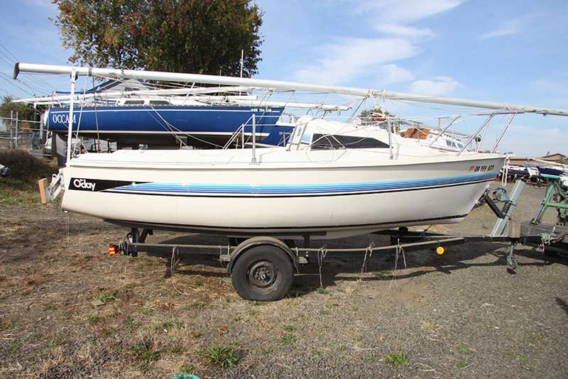 Oday 19 Sailboat for Sale with Trailer